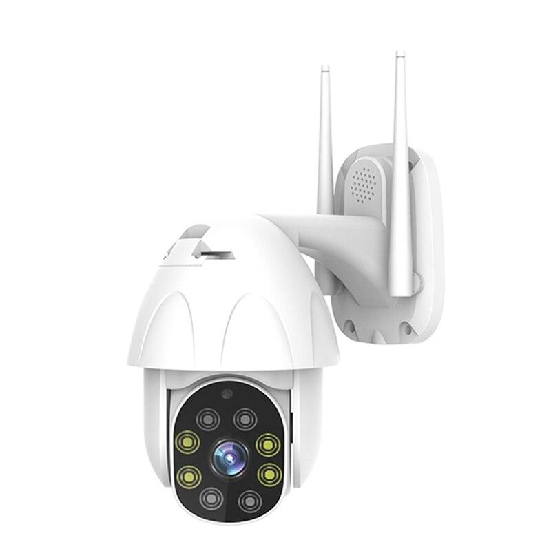 Caméra de sécurité sans fil Hd 1080P Ptz caméra Ip Ir extérieure étanche Surveillance à domicile deux voies Audio suivi automatique caméra de vidéosurveillance