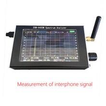 Портативный 35 м-4400 м простой анализатор спектра измерение межтелефонного сигнала