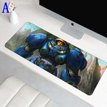 70x30cm Anti-slip StarCraft Mouse pad Large XL Gaming padmouse Big Anime Mouse Locking Edge MousePad for Gamer play Mat(China)
