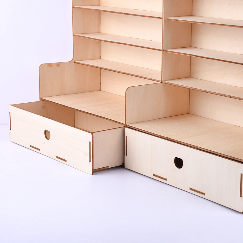 com armário boa estabilidade e rack de mesa