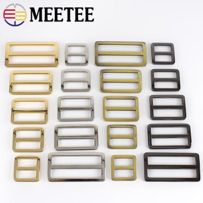 10pcs Webbing Straps Metal Slider Tri Glide Adjuster Buckles Bag Shoes Belt Clasp Hooks DIY Leather Ring Part Accessories F4 4|Buckles & Hooks|   - AliExpress