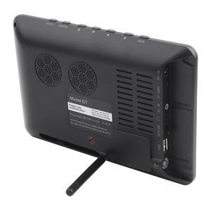 Image 3 - Leadstar דיגיטלי HD הטלוויזיה 800x480 7 אינץ DVB T2 טלוויזיה ואנלוגי טלוויזיה מקלט תמיכת זיכרון כרטיס USB DVB T טלוויזיה