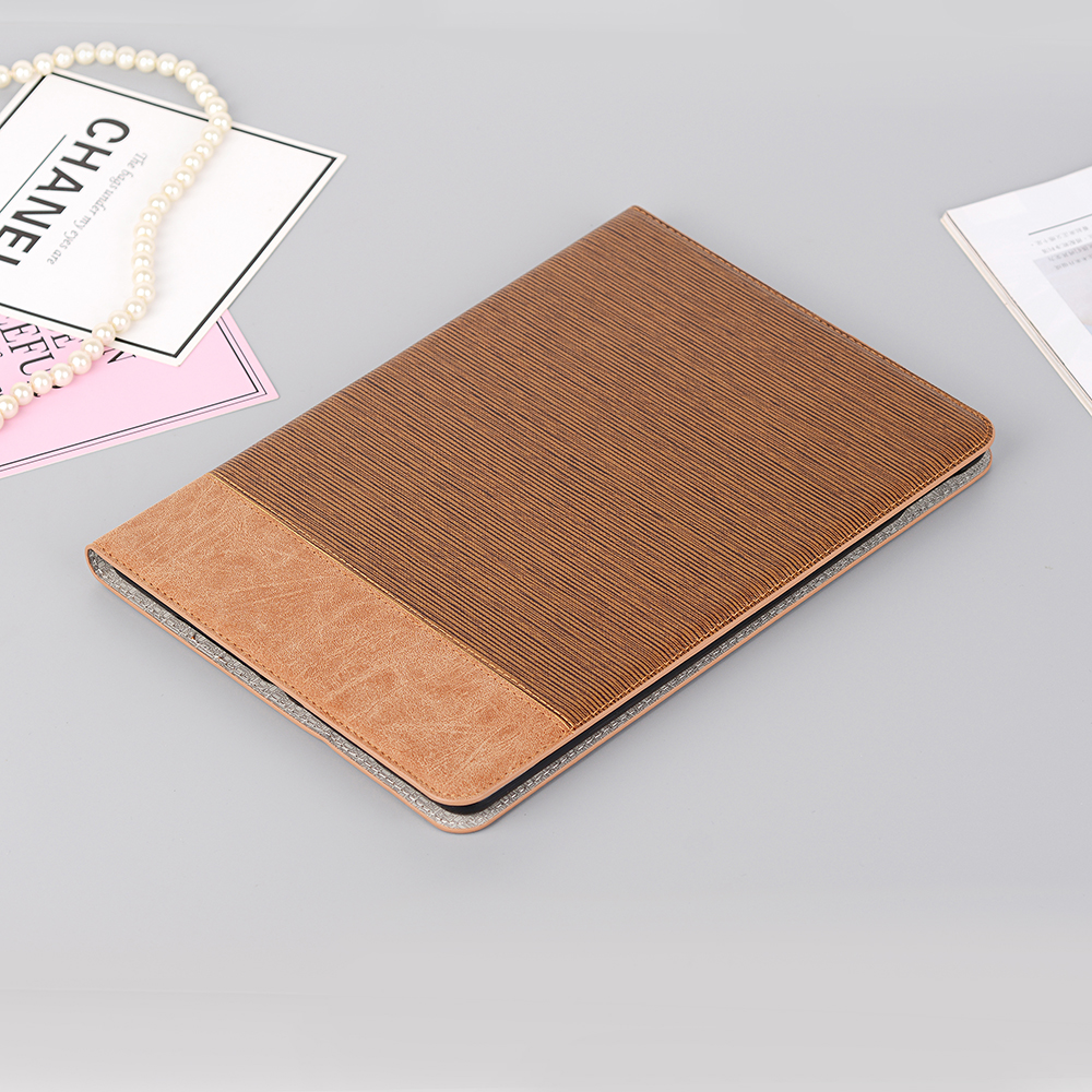 A Gray Leather Case for iPad 10 2 2019 7 7th 8th Generation pro 10 5 2017 Cover