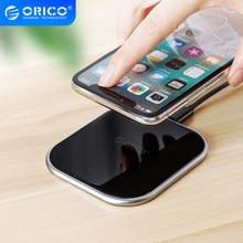 ORICO 10W Qi chargeur sans fil 5V 9V sans fil charge rapide pour iPhone 11 Pro Xs Samsung Galaxy S8 S9 S7