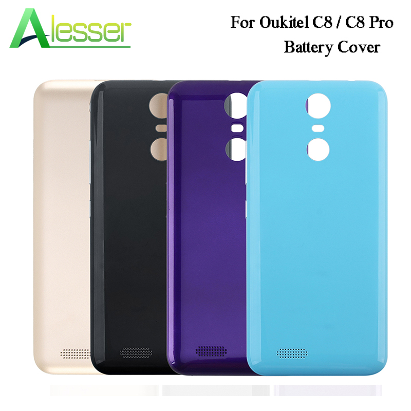 Alesser For Oukitel C8 C8 Pro Battery Cover Case With Radiating Film Replacement Ultra Slim For Oukitel C8 Pro Phone Accessories