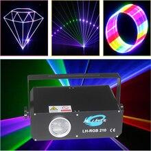 Ilda 2d + 3d lazer 300MW rgb lazer ışını ve animasyon programlanabilir tam renkli etkisi gökyüzü lazer ışığı
