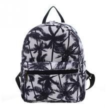Women Cartoon Cute Canvas Backpack Students Printing Style