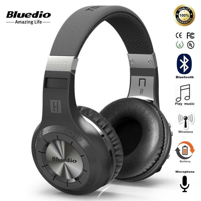 1314.19руб. 28% СКИДКА|Беспроводные стереонаушники Bluedio Turbine Hurricane H Bluetooth 4,1|Наушники и гарнитуры| |  - AliExpress