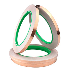 20/30/50/Meters Single Side Conductive Copper Foil Tape Strip Adhesive EMI Shielding Heat Resist Tape 3mm