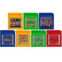 16 ビットビデオゲームカートリッジコンソールカード任天堂 Gbc Compilations コレクションすべて 1 で英語版