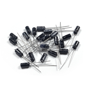 Image 3 - 50 Stuks Higt Kwaliteit 25V10UF 4*7Mm 10Uf 25V 4*7 Elektrolytische Condensator