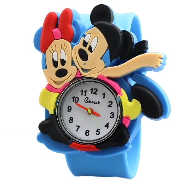 New Cartoon Q Version Of Double Mickey Logo Students Patted The Watch