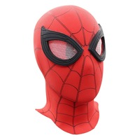 1pc Luxury Spiderman Mask Cosplay Spider Man Homecoming Mask PVC Superhero Helmet Full Face Costume Halloween Party Props
