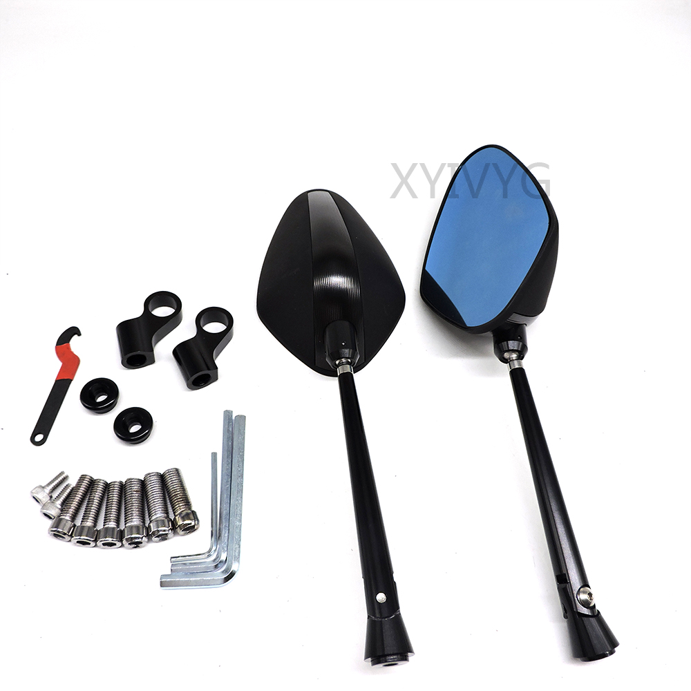 Motor Motorcycle New Rear View Mirror Rearview Mirror Aluminum CNC Mirror Universal Motorcycle Accessories Parts
