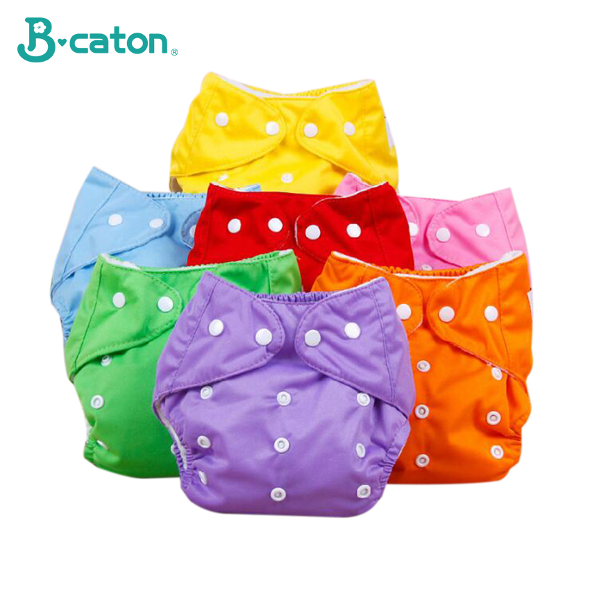 Baby Diapers Pants Adjustable Reusable Baby Diapers Infant Boys Girls Cloth Diapers Soft Covers Washable Nappies Various Colors