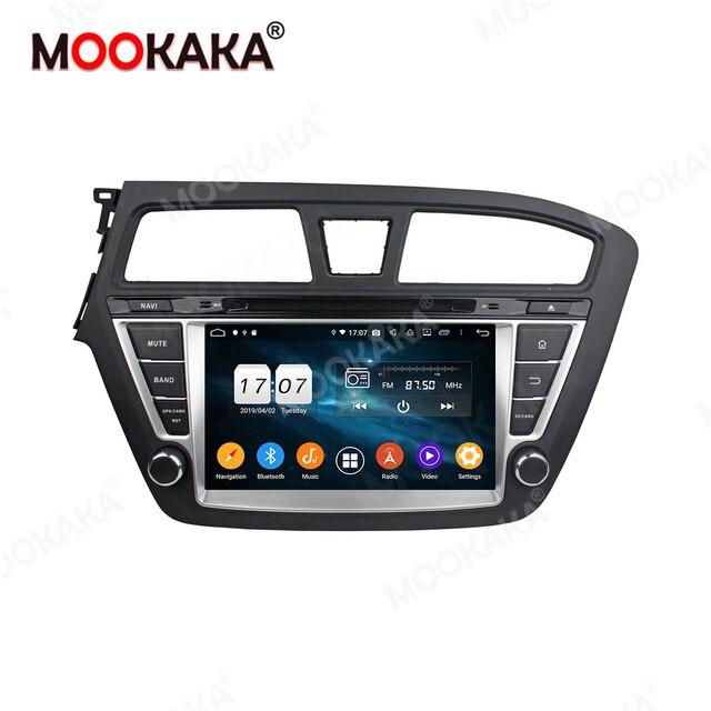 Für HYUNDAI ICH 20 I20 2014   2019 Android 10,0 64GB Auto Multimedia Player Radio GPS Navigation Audio Stereo autostereo Kopf Einheit