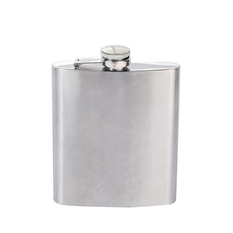 Rainbow Gemstones 5oz Stainless Steel Flask