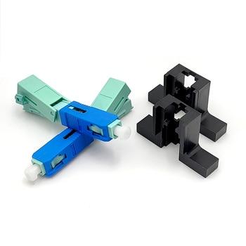 UNIKIT FTTH SC APC y SC UPC de fibra óptica monomodo nuevo modelo conector rápido óptico