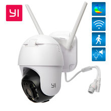 YI 1080P PTZ Wifi / PoE Cámara para Exteriores Zoom Digital Auto IA Cámara IP Humana Audio Bidireccional IR Cámara CCTV de Visión Nocturna