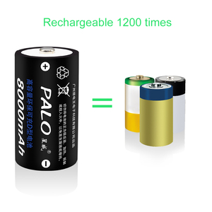 Image 4 - PALO 1.2V D Size Rechargeable Battery Type D Batteries 8000mAh NI MH Batteries Recargable for Water heater, induction cooker