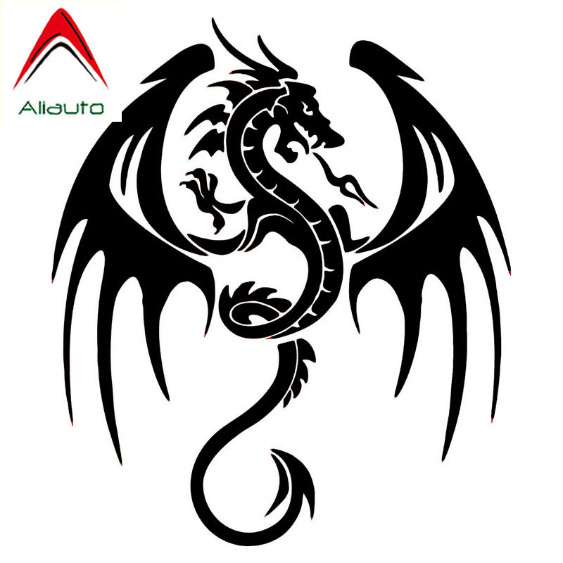TRIBAL DRAGON VINYL Decals Sticker   BUY 2 GET 1 FREE automatically