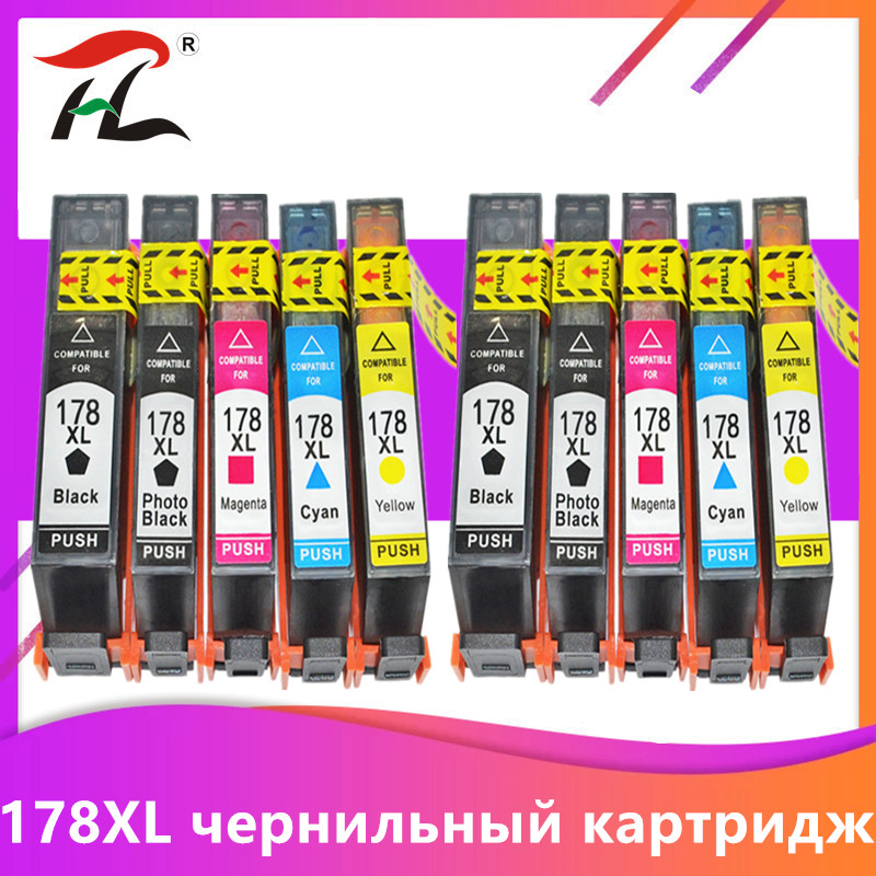Yi Le Cai printer ink cartridge 364XL <font><b>HP</b></font> <font><b>364</b></font> XL replace for <font><b>HP</b></font> Photosmart 5510 5515 6510 B010a B109a B209a Deskjet 3070A HP364 image