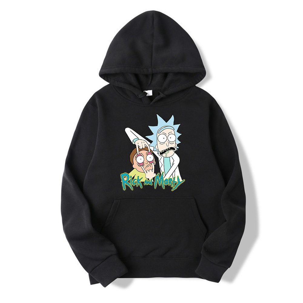 Rick And Morty Casual Hoodies For Men And Women Street Casual Wearr Sweatshirt