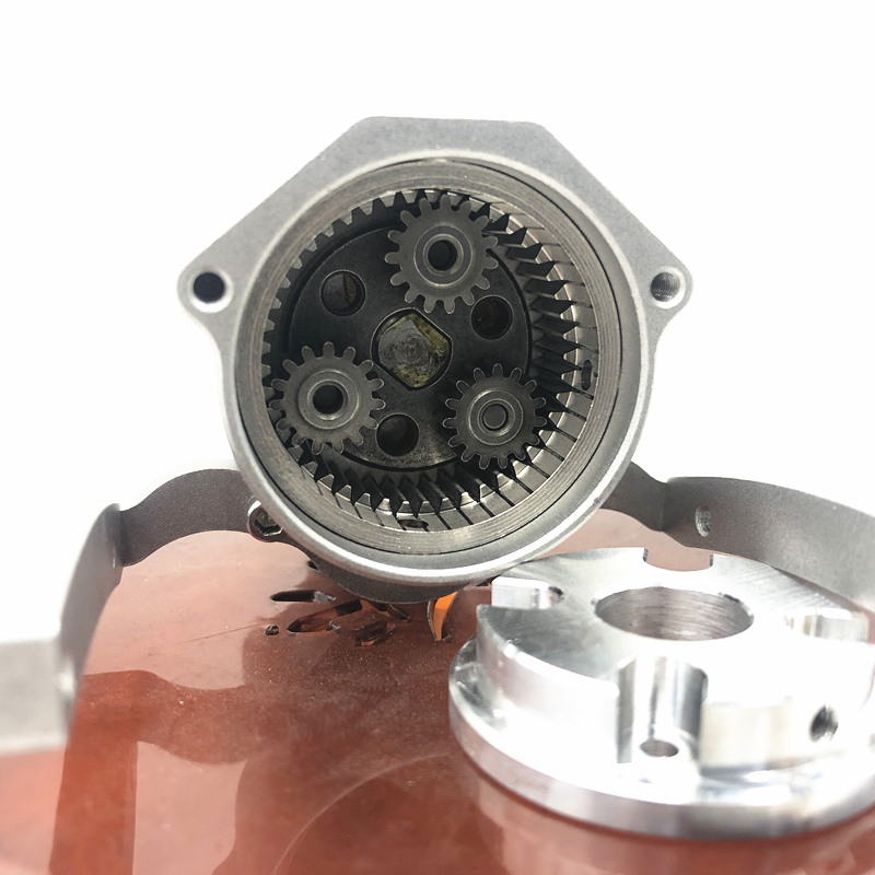 Front alloy Transmission Gearbox  for 1/10 RC Car  Axial SCX10 & SCX10 II 90046 90027 90047 90060 Upgrade Part V8 Engine Radiato enlarge
