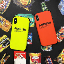 Minimum mobile phone case Cool Fashion for iphone 8 case 6S 6 7 Plus X Xs Xr Luxury iphone xs max case Soft silicon IMD cover леггинсы minimum р xs int