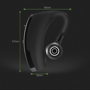 Image 5 - V9 Wireless Voice Control Music Sports Bluetooth Handsfree Business Earphone Bluetooth 4.1 Headphones Noise Cancelling Headset