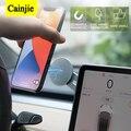 Магнитный автомобильный держатель для телефона, навигационная наклейка, подставка для iPhone 12, Металлические Магнитные GPS-аксессуары для авт...