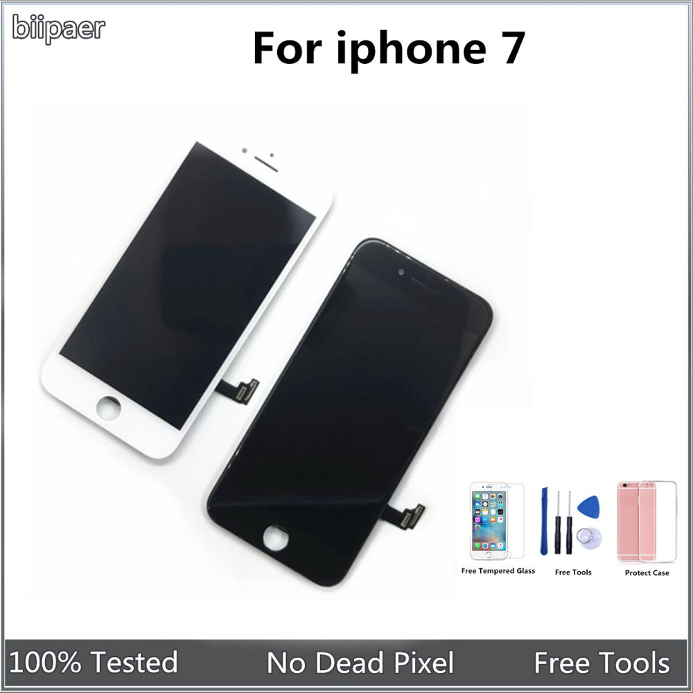 Biipaer AAAA Quality LCD Display For Iphone 7 LCD Touch Screen Digitizer Assembly Replacement Part For Iphone7