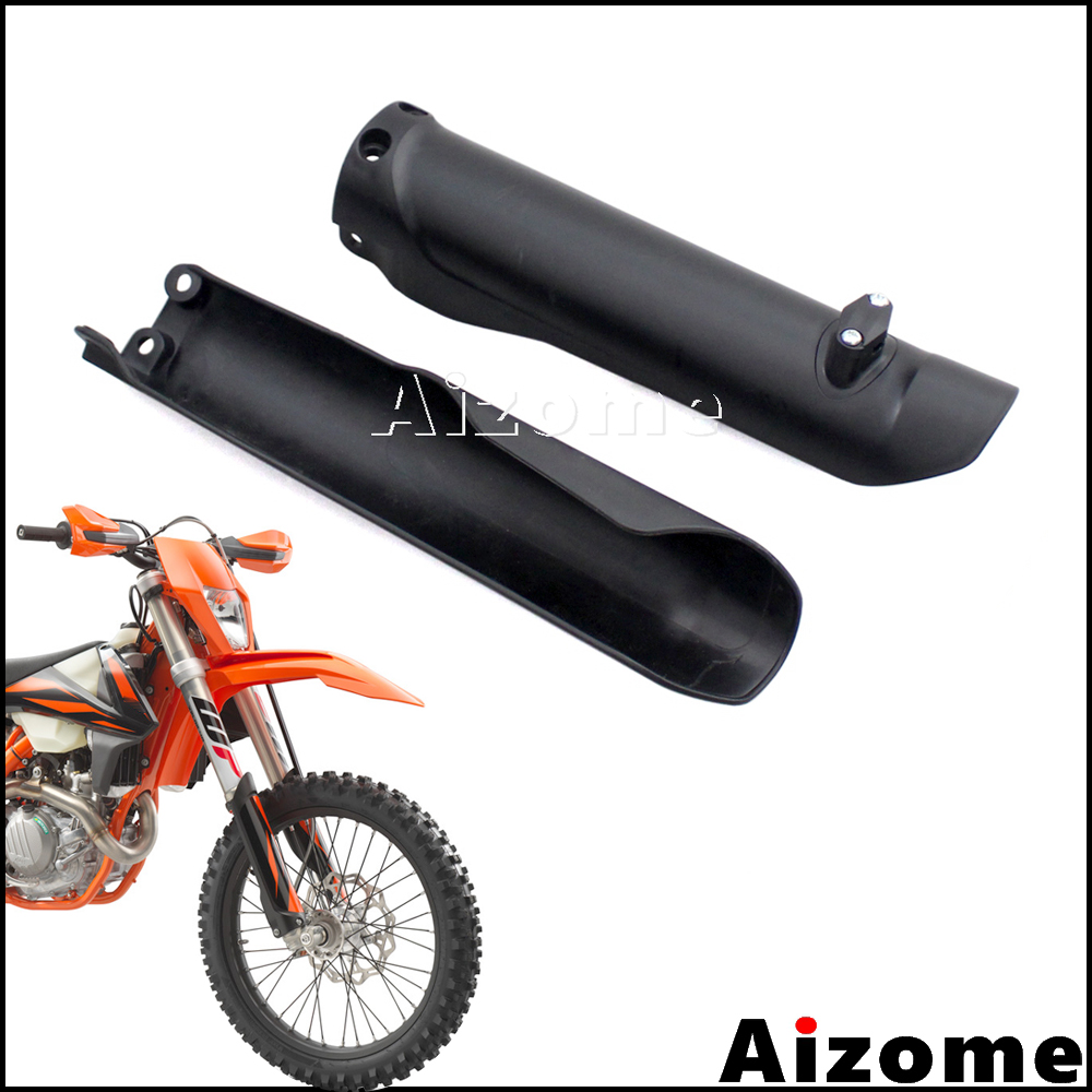 Enduro Protector Covers Dirt Bike Fork Guards For <font><b>KTM</b></font> XC XC-F SX SX-F EXC-F XC-W 125 150 250 300 350 <font><b>450</b></font> 500 2016 <font><b>2017</b></font> 2018 2019 image