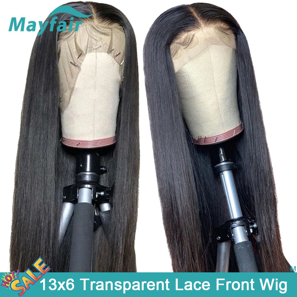 13x6 Lace Front Wig Transparent Lace Wigs Straight Lace Front Human Hair Wigs 30 Inch Brazilian Remy Hair Wigs Hd Lace Wig 150%