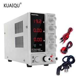 Image 1 - NPS3010W Labor Netzteil 30V10A Strom Regler Schalter Netzteil Einstellbar Spannung Regler Bank Quelle Digital