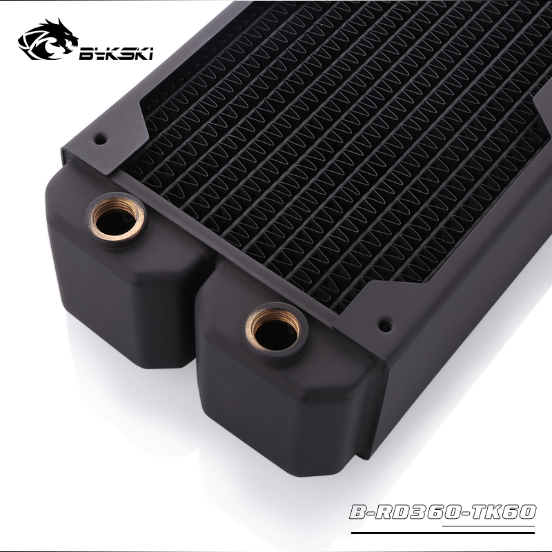 Image 4 - Bykski B RD360 TK60, 360mm Triple Row Radiators, 60mm Thickness, Standard Water Cooling Radiators , Suitable For 120*120mm Fans-in Fans & Cooling from Computer & Office
