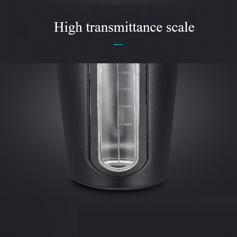 700ml Stainless Steel Transparent Scale Sports Portable Protein Powder Cup Shaker Bottles