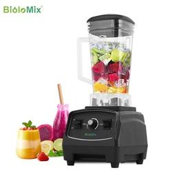 BPA Free 3HP 2200W Heavy Duty licuadora de grado comercial, mezclador, exprimidor de alta potencia, procesador de alimentos, licuadora de hielo, licuadora de frutas