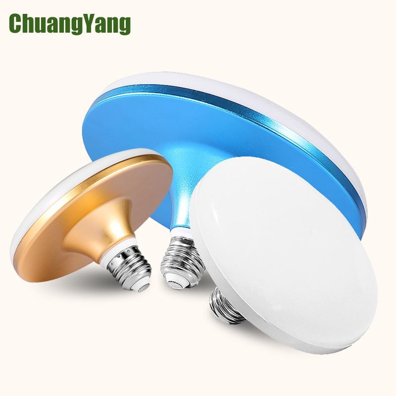 Energy Saving Led Bulb Light  AC180-265V 220V SMD 5730 2835 LED Bulb E27 15W 20W 30W 40W 50W 60W Led Lampada For Home  UFO Lamps