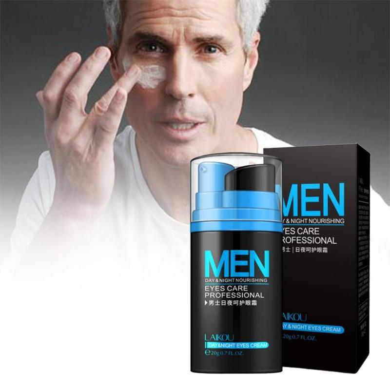 1PC Day And Night Men's Eye Cream Removal Dark Circles To Bags Under The Eyes Of Tight Anti-Age