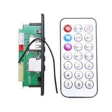 FULL-CT10E-BT Dual Ch 3W Versterker Board Diy Bluetooth Handsfree MP3 Speler Luidspreker Modificatie Module Tf Usb Fm Radio Auto kit(China)