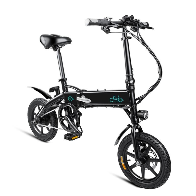 FIIDO D1 D2 D3 5.2Ah 7.8Ah 10.4Ah Electric Bicycle Dual Disc Brake 36V 250W/300W Aluminum Alloy Smart Folding Electric Bike