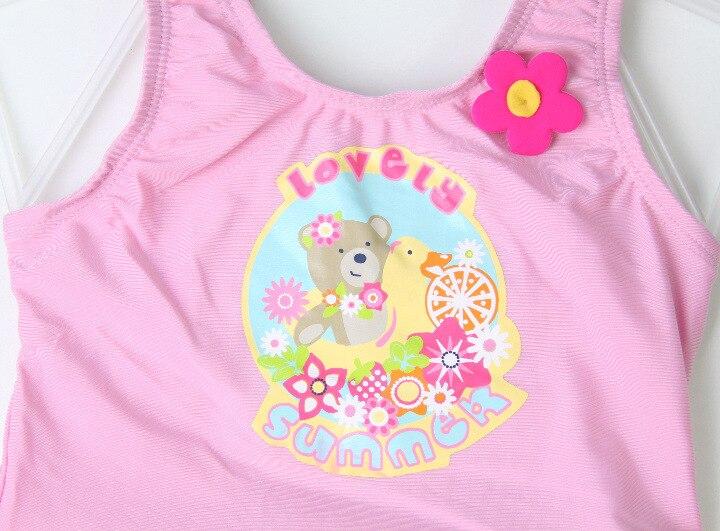 Fat Baby Plus-sized KID'S Swimwear Baby Girls Lovely Craft Dress-Small Bathing Suit Flower Swimwear