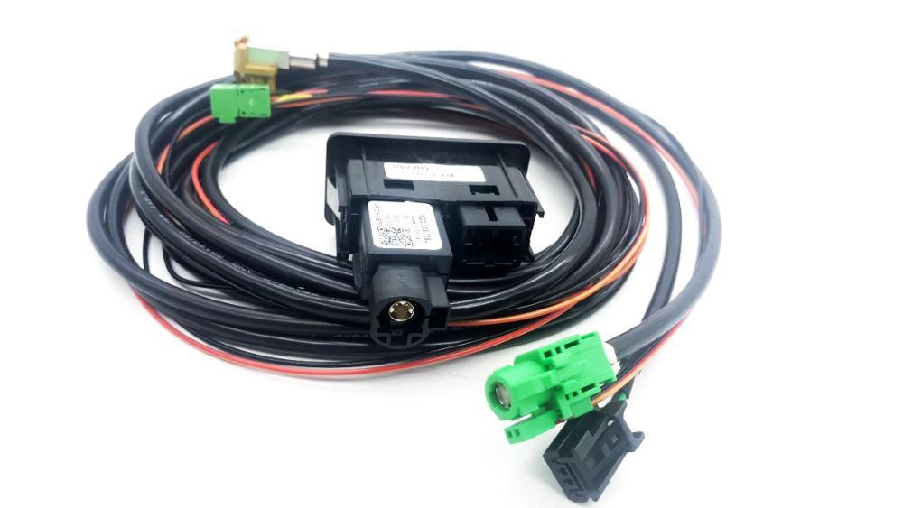 Штепсельная Вилка для Golf 7 MK7 CARPLAY USB AUX CarPlay MDI USB AMI 5QD 035 762 J 5G0035222F /E 5G0 035 222
