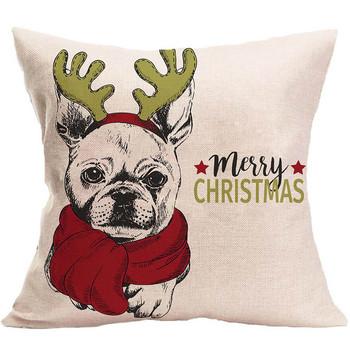 2020 świąteczna poduszka skrzynka kreatywna poduszka dekoracyjna pokrywa kreatywny tanie i dobre opinie CN (pochodzenie) Dekoracyjne 100tc Zwierząt Cartoon Drukuj W paski Dół Anti-static NECK quality Plac 0-0 5 kg