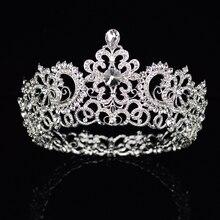 Bridal Beauty Rhinestone Headdress Crystal Headbands Women Hair Jewelry Wedding Accessories Crystal Tiaras And Crowns Head Chain