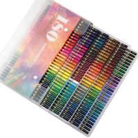 180 Matite Colorate di Legno Set 2B Olio Colorato Penna per il Capretto Professionale della Pittura di Disegno Disegno Della Cancelleria Arcobaleno Colore Della Penna Forniture
