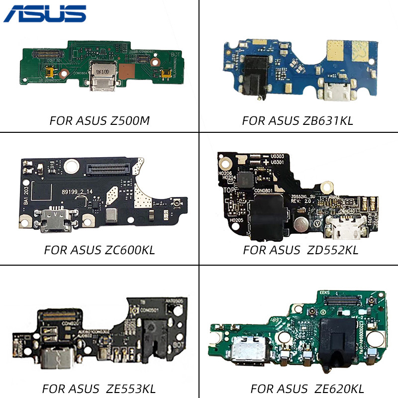 Netcosy USB Charging Port Dock Jack Connector Board Flex Cable For ASUS Zenfone ZD552KL ZC600KL ZE620KL ZB631KL ZE553KL Z500M