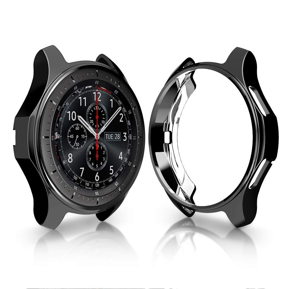 Case For samsung Galaxy Watch 46mm 42mm/Gear S3 frontier strap TPU plated All-Around bumper protection shell frame Accessories