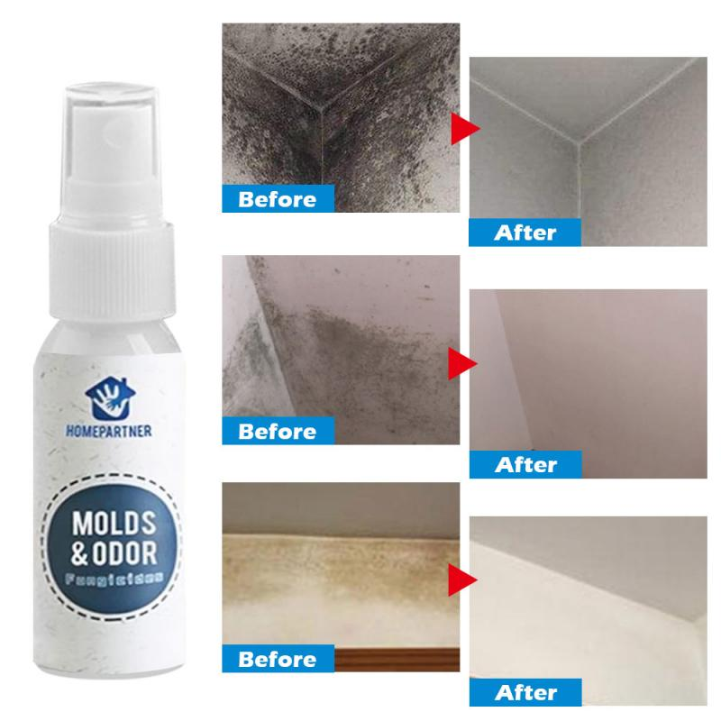 30ML Effective Mildew Remover Cleaner Caulk Gel Mold Remover Gel Mildew Eliminating Agent Spray Household Wall Cleaner